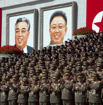 Ziua Coreei de Nord, paradă militară