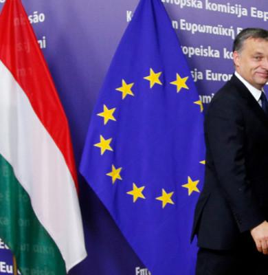 Viktor Orban, la UE