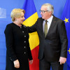 Viorica Dancila - Jean-Claude Juncker meeting in Brussels