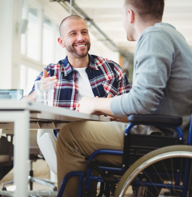 Angajat cu handicap, dizabilități la muncă