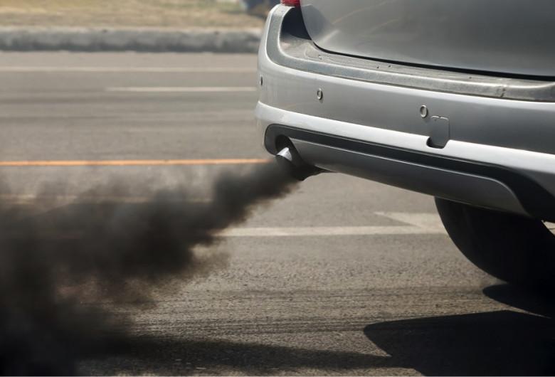Poluare de la mașini, noxe, gaze de eșapament,