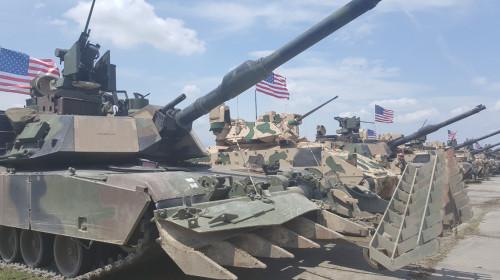 Statele Unite, militar, tancuri, război