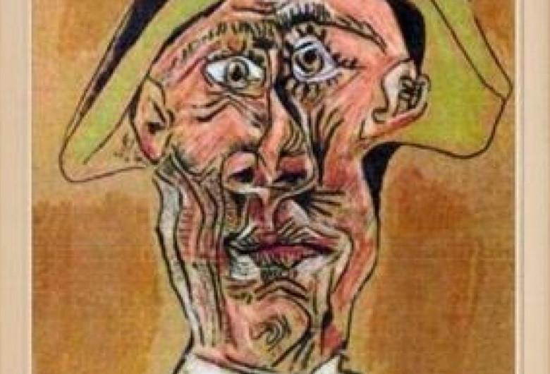 Cap de Arlechin, tablou de Picasso