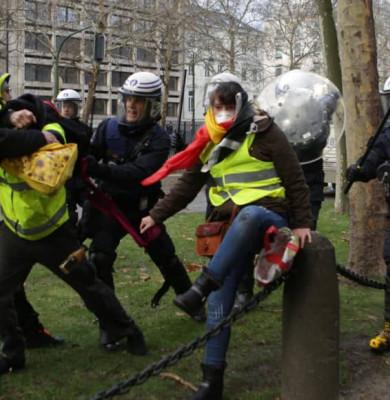 Protestul vestelor galbene din Belgia
