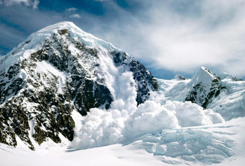Avalanșă în Bucegi