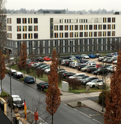 Tribunal german evacuat
