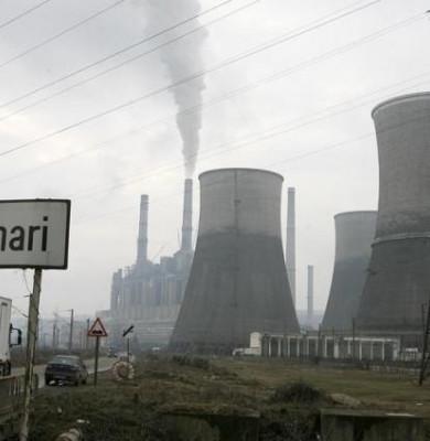 Un grup de producţie al termocentralei de la Rovinari a fost oprit, din cauza grevei minerilor din Gorj