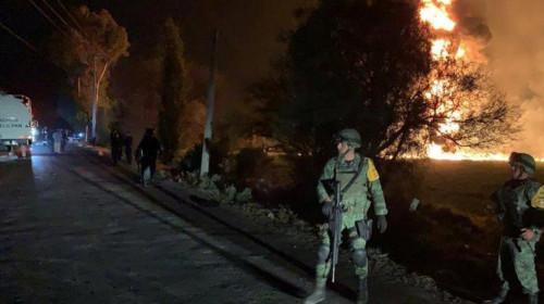 Explozie în Mexic