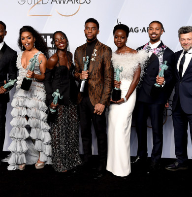 Black Panther câștigător la SAG Awards 2019