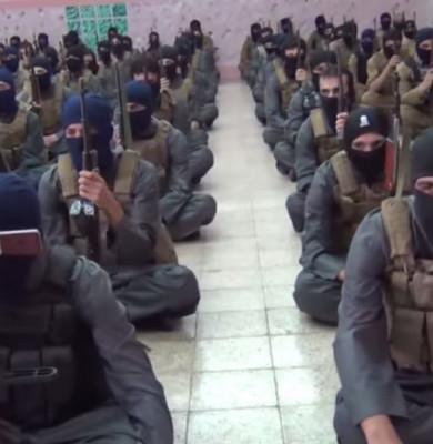 Jihadiști din gruparea Stat Islamic