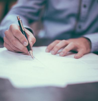 Contract, angajare, candidatură, semnează hârtii, acte