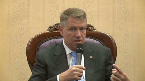 Klaus Iohannis, la Asociația Orașelor din România