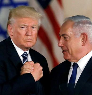 Donald Trump cu Benjamin Netanyahu