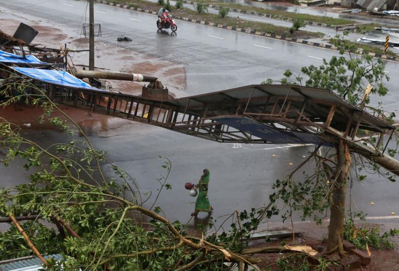 Ciclonul Fani din India