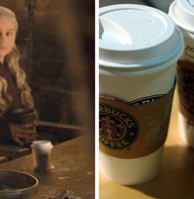 Cafea Starbucks în Urzeala Tronurilor