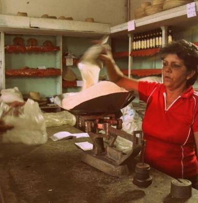 Rații de mâncare în Cuba