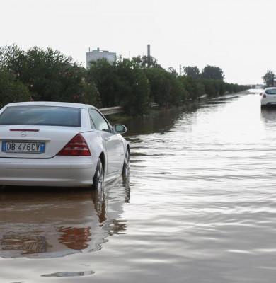 Inundații în Italia