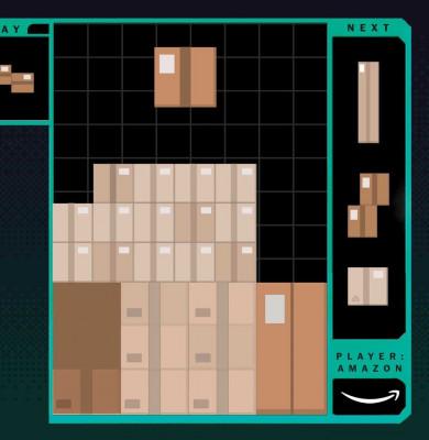Joc video al muncii la Amazon
