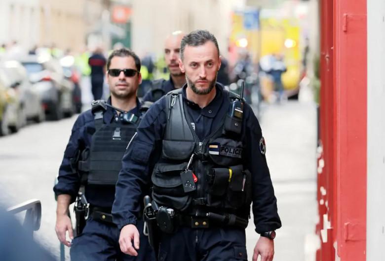 Atac terorist în Lyon, forțe de ordine