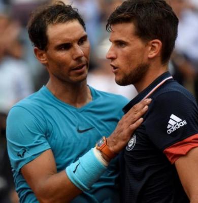 Rafael Nadal cu Dominic Thiem