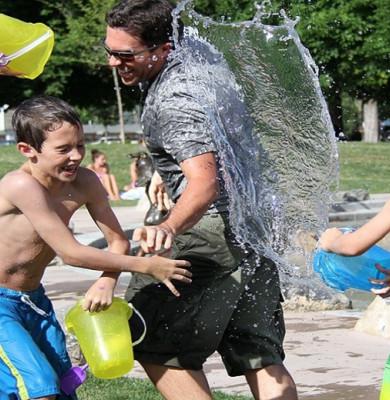 Vacanța de vară, elevi, copii, joacă