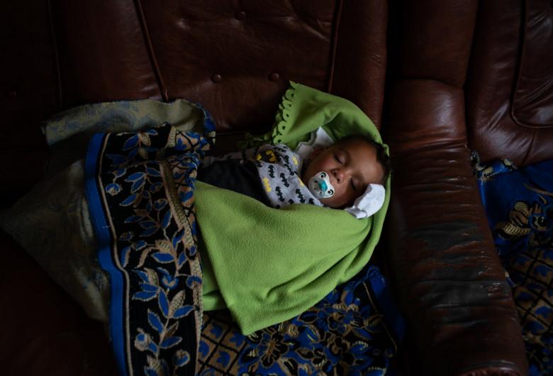 Constantin Mutu, bebeluș separat de părinți în SUA-Mexic