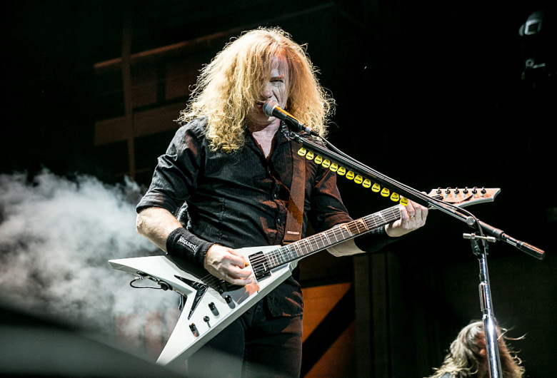 Dave Mustaine din Megadeth