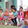 Copii la grădiniță