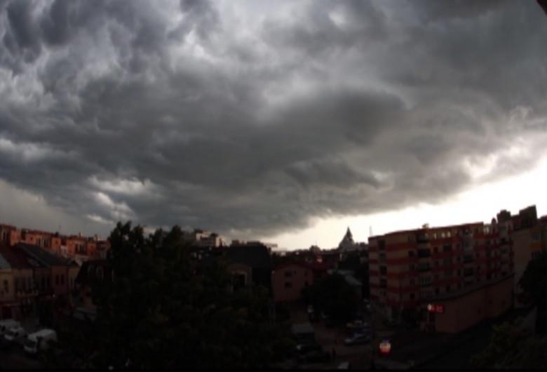 Furtună în Buzău
