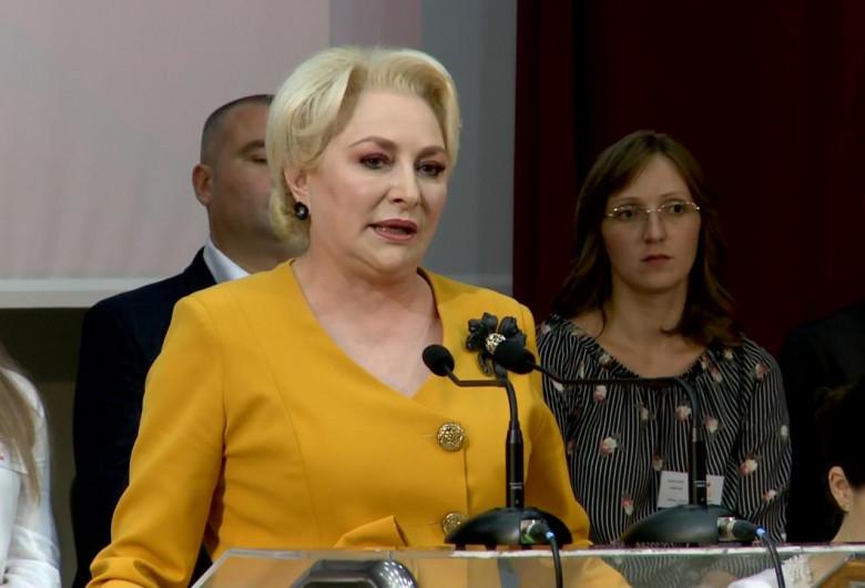 Viorica Dăncilă, la PSD Bistrița-Năsăud