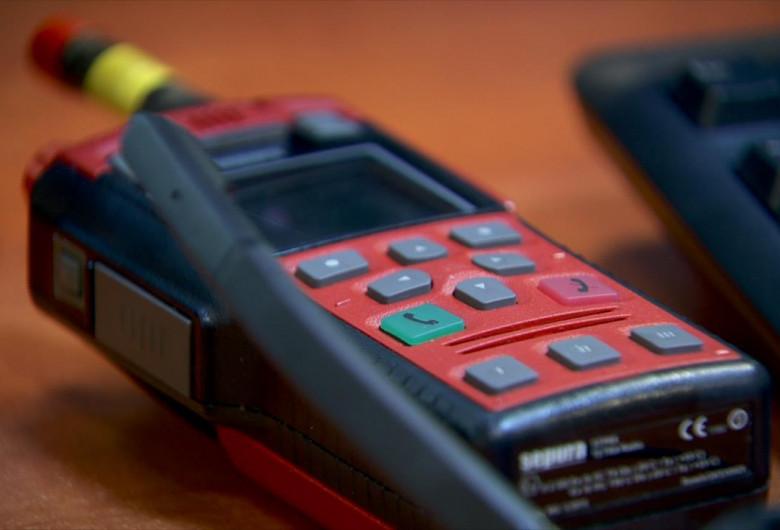 Stație walkie-talkie,Poliție,112