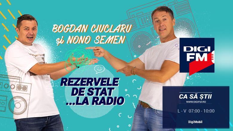Bogdan Ciuclaru și Nono Semen, matinal, Rezerve de Stat