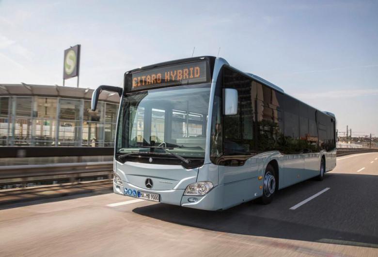 Autobuz Mercedes-Benz Citaro Hybrid, transport în comun