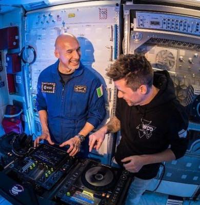 DJ spațial Luca Parmitano