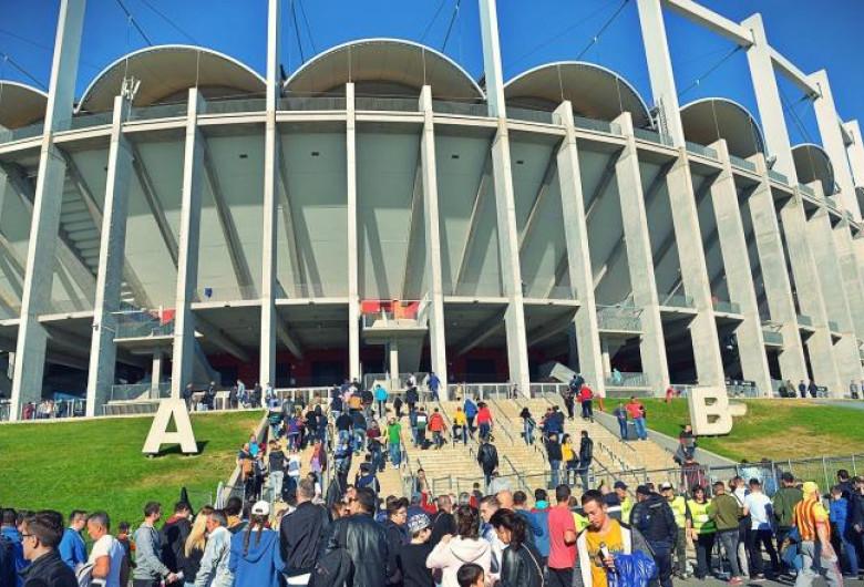 Arena Națională cu suporteri, fotbal