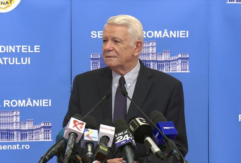 Teodor Meleșcanu, la Senat