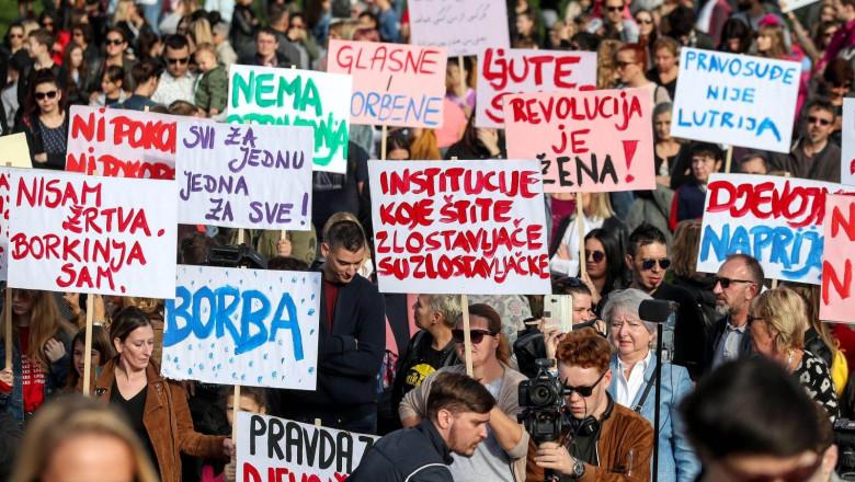 Proteste în Croația pentru victimele agresorilor sexuali