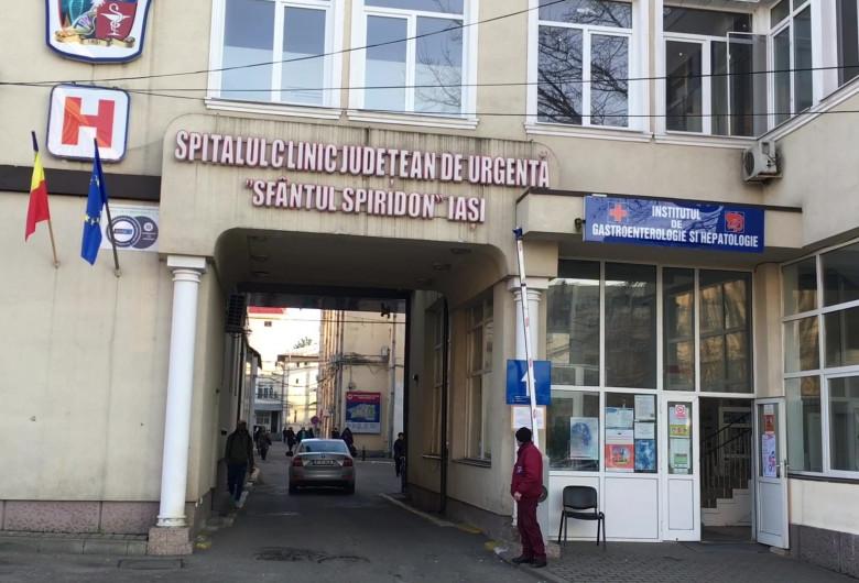 "Spitalul ""Sfântul Spiridon"" din Iași"