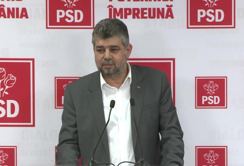 Marcel Ciolacu, la PSD
