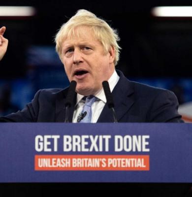 Boris Johnson cu Brexit