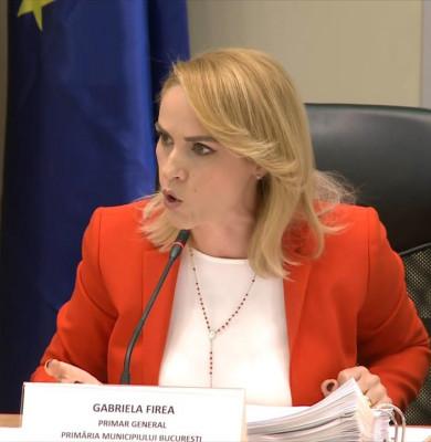 Gabriela Firea nervoasă