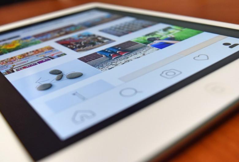 Instagram pe tabletă