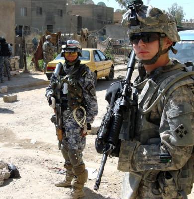Soldați americani în Irak, militar, SUA