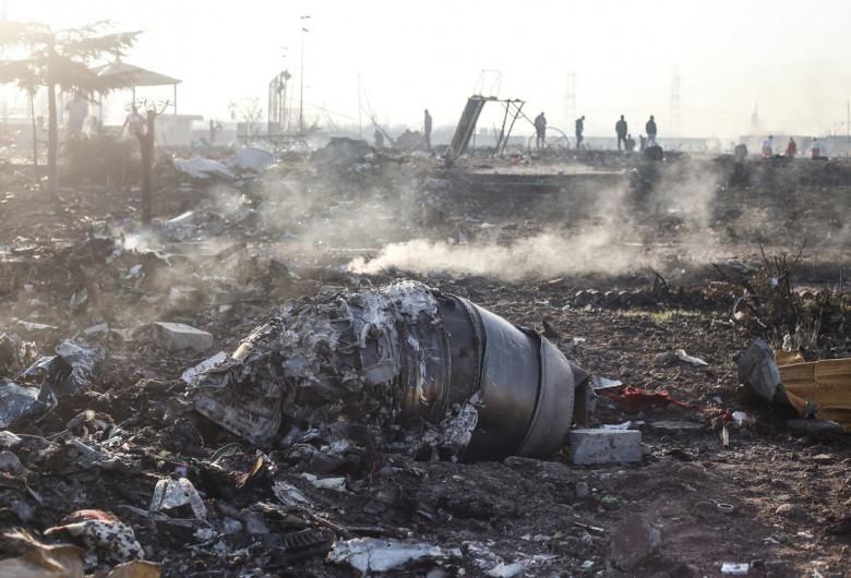 Avion ucrainean doborât în Iran