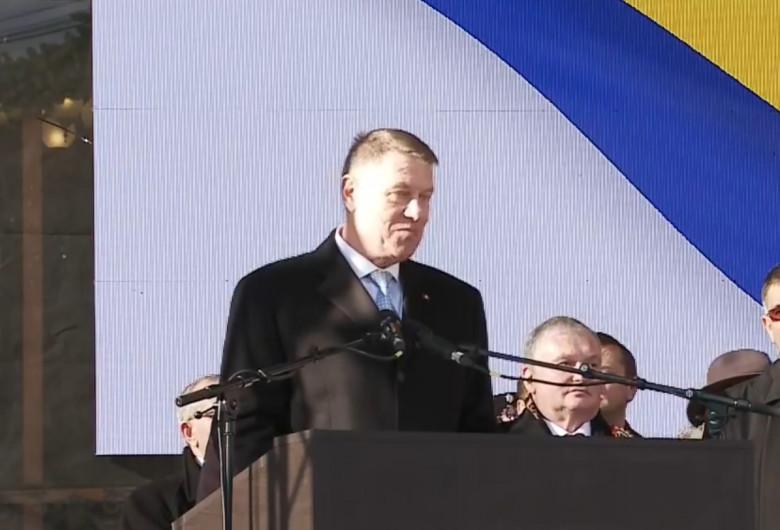 Klaus Iohannis, la Iași, de ziua Unirii Principatelor Române