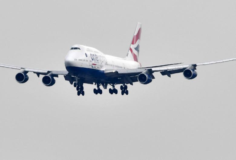 Avion British Airways, aeronavă, cursă aeriană