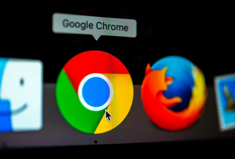 Google Chrome, între Safari și Firefox, browser