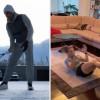 Halep și Federer, exerciții fizice în izolare