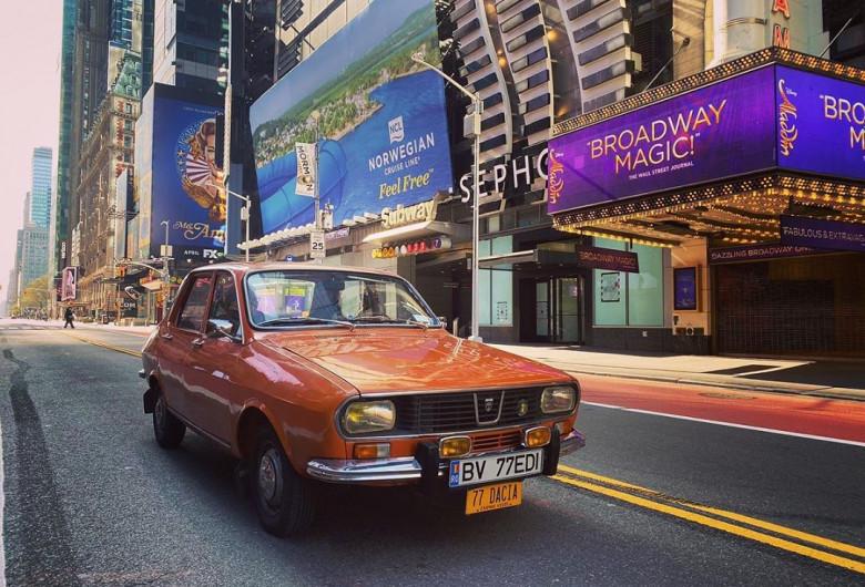Dacia 1300 în New York