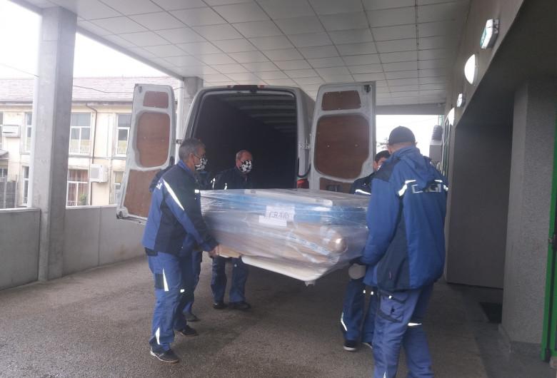 Donație de echipamente medicale pentru COVID-19, coronavirus, Digi